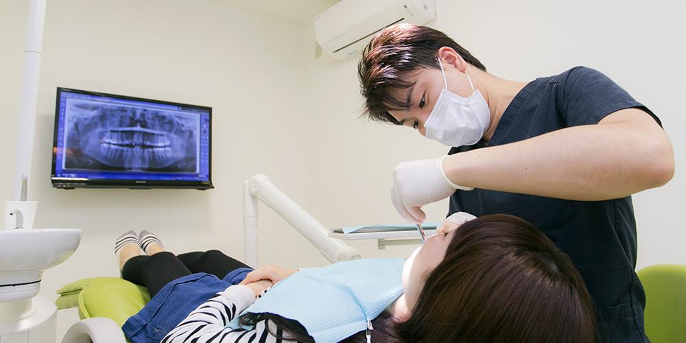 歯も口も体の一部であり、歯科治療も命にかかわる治療と考えています